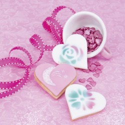 Set Biscotti Decorati Cuore
